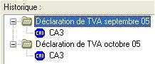 ebp comptabilite 2006: les declarations de tva
