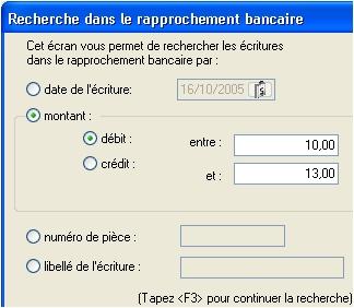 ebp comptabilité 2006: le rapprochement