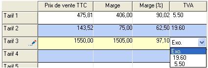 EBP Gestion commerciale 2006: la TVA